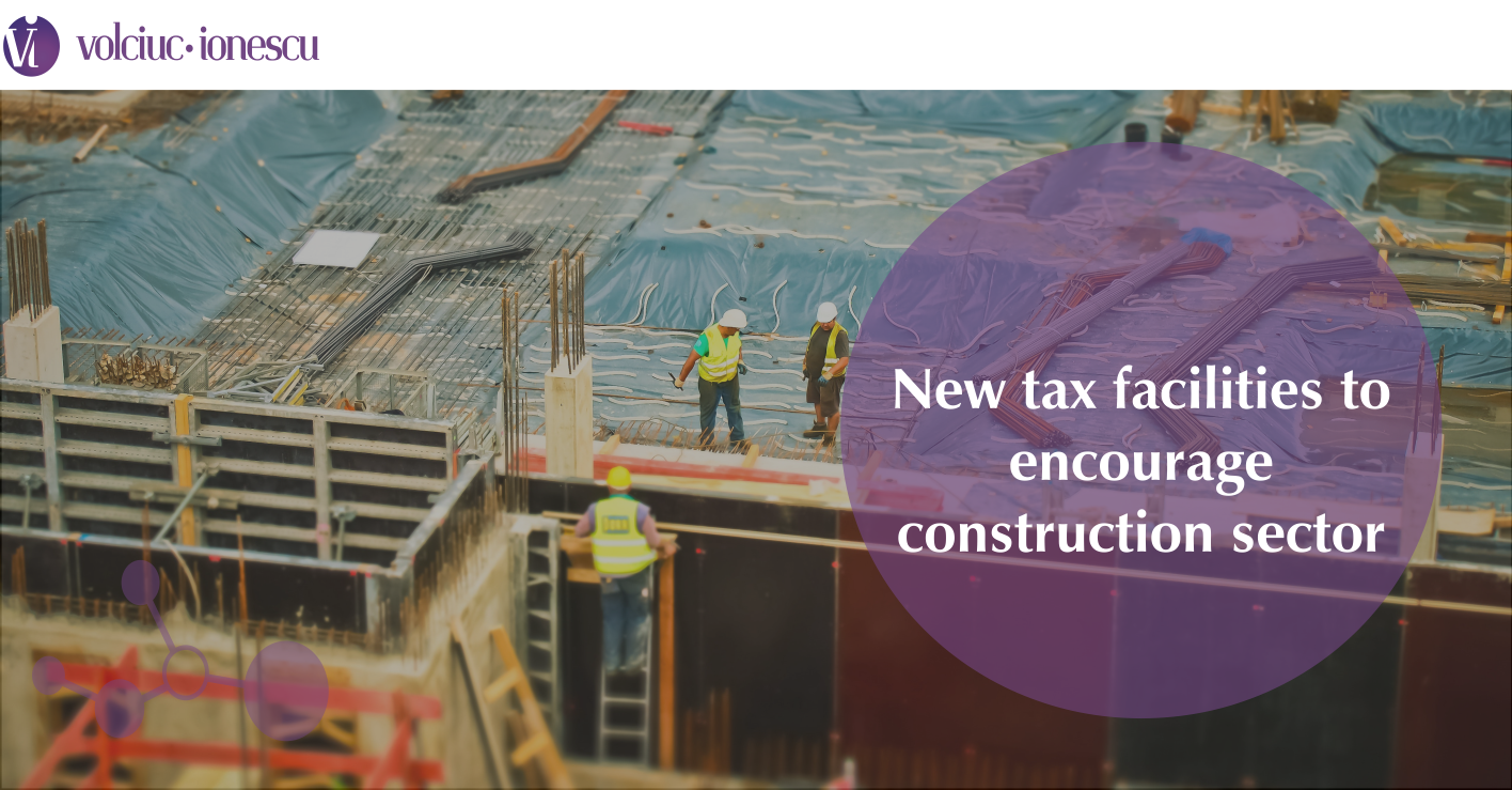 New tax facilities to encourage construction sector