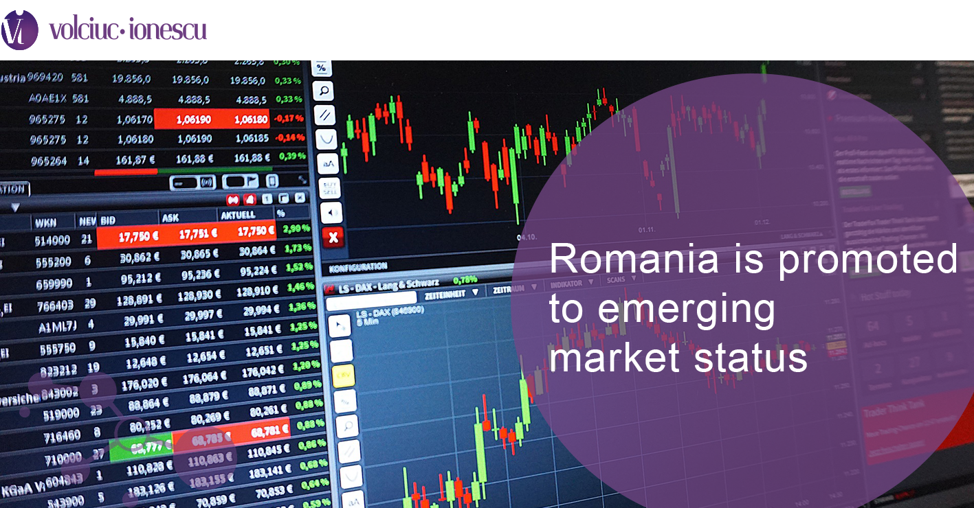 Romania is promoted to emerging market status