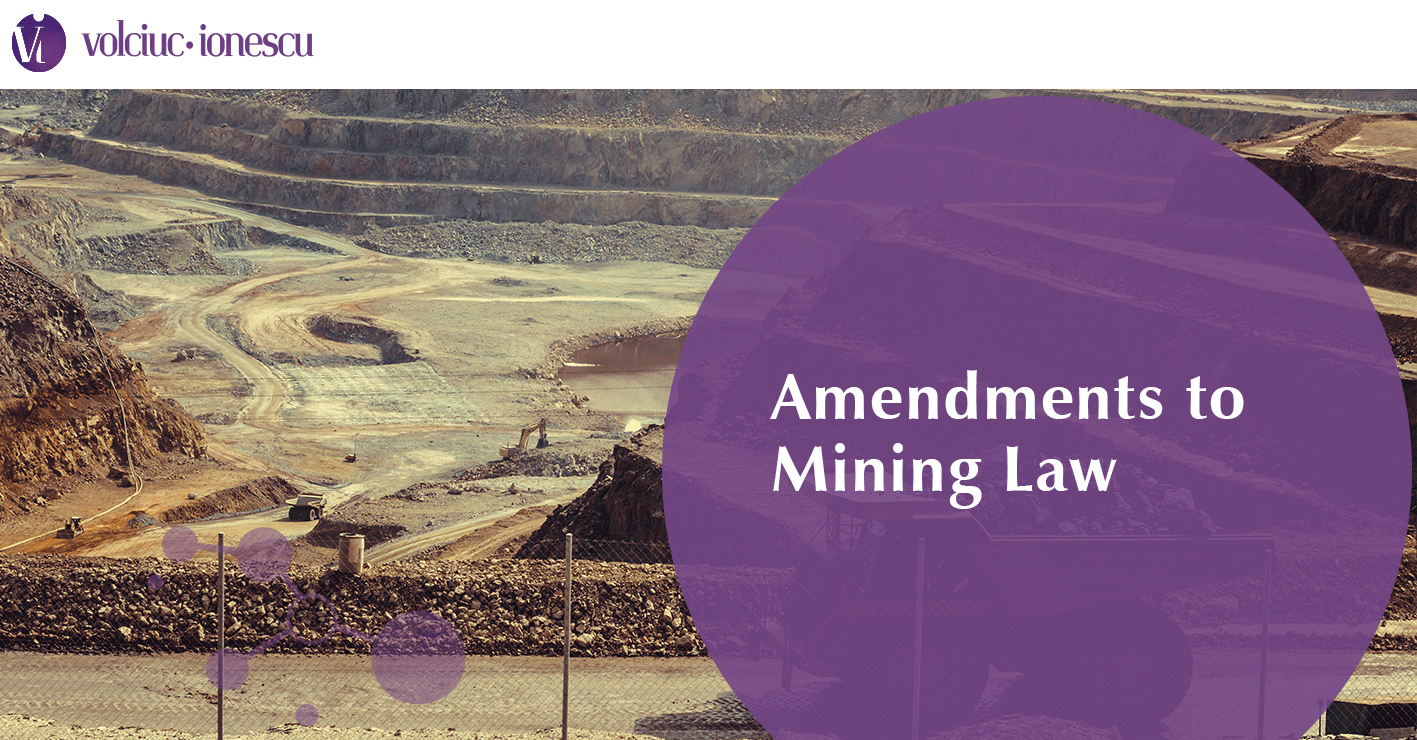Amendments to Mining Law