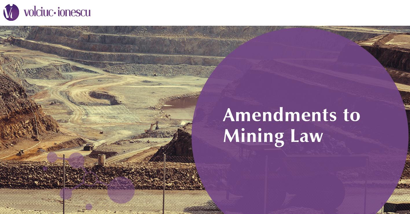 Amendments to Mining Law