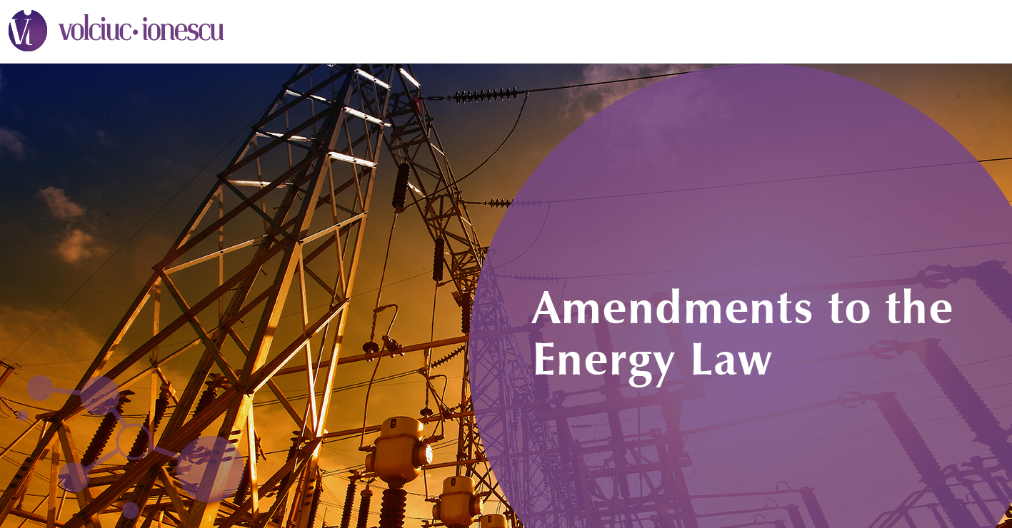 Amendments to the Energy Law